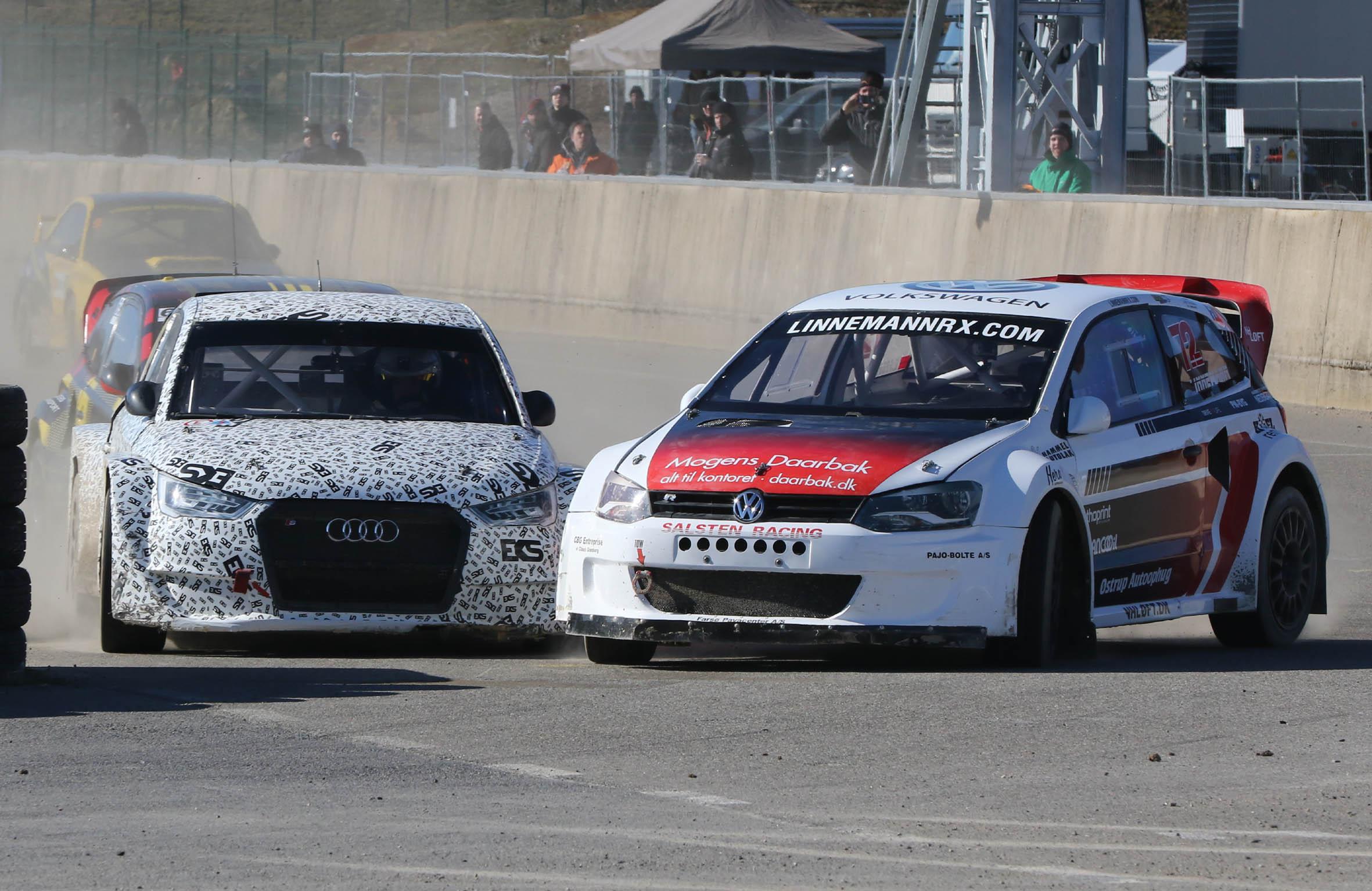 Linnemanns første løb i ny bil fører til sejr